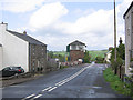 NY5863 : Low Row level crossing and signalbox by Stephen Craven