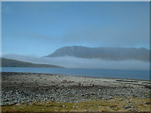 NH1098 : Ben Mhòr Coigach with haar by Ike Gibson