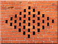 SO2092 : Vents in a brick barn by Jonathan Billinger