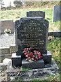 SM9828 : Christmas Lewis' gravestone by ceridwen