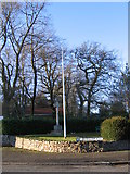 SO9975 : War memorial, Old Birmingham Road at the top of Rose Hill by Roy Hughes