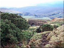 NG4032 : Old bridge over Allt Choir a' Ghobhainn by Richard Dorrell