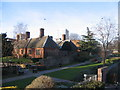 SP3379 : Lady Herbert's garden and almshouses by E Gammie