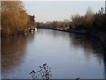 SK4799 : Icy canal by Dave Taylor