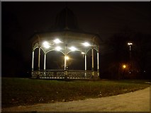 NZ2465 : Bandstand on Town Moor by Stephen Sweeney