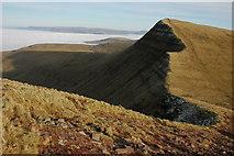 SO0121 : Cribyn from Craig Cwm Sere by Philip Halling