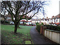 TQ3269 : Annsworth Crescent (off Grange Road) by Chris L L