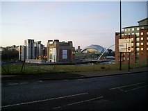 NZ2564 : Gateshead Quays from City Road, Newcastle by Stephen Sweeney