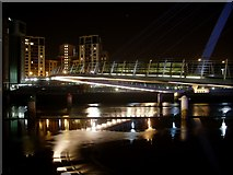 NZ2564 : Walkway of the Gateshead Millennium Bridge by Stephen Sweeney
