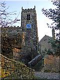 SJ9995 : Mottram Church by Bob Abell