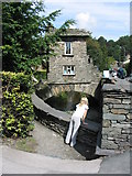 NY3704 : Bridge House, Ambleside by Peter Whatley