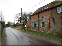 TG2834 : View east along Brewery Road by Evelyn Simak