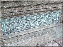 TM1543 : Bridge plaque by Keith Evans