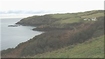 SH4094 : The eastern shores of Porth Wen by Eric Jones
