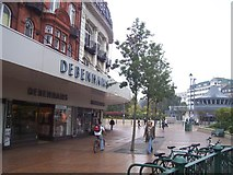 SZ0891 : Bournemouth : Debenhams & Bournemouth Square by Lewis Clarke