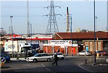 TQ6174 : Stonebridge Road, Northfleet by Martin Thirkettle