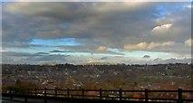SK1846 : Ashbourne rooftops by Steve  Fareham