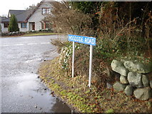 NJ6201 : Junction of Woodside Road with A980 by Stanley Howe