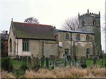 SK8259 : Church of St Bartholomew, Langford by Tim Heaton