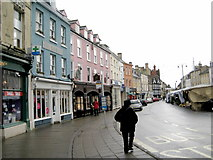SP0202 : Market Place - Cirencester by Sarah Smith