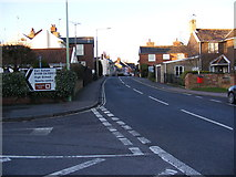 TM2863 : B1116 College Road, Framlingham by Adrian Cable