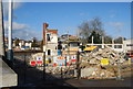 TQ5840 : Demolition site by Grosvenor Road Bridge by N Chadwick