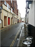 SY6878 : New Street, Weymouth by Jonathan Billinger
