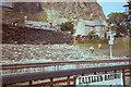 SH7045 : Blaenau Ffestiniog station, 1984 by E Gammie