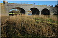 SO8933 : Disused railway bridge, Tewkesbury by Philip Halling