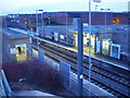 NZ3857 : Waiting for the metro at Millfield by Freethinker
