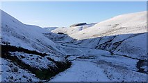 NT8711 : Track from Barrowburn to Fairhaugh by Andrew Curtis