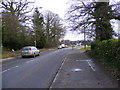 TM2145 : A1214 Main Road, Kesgrave by Adrian Cable