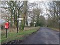 ST6809 : Glanvilles Wootton: postbox № DT9 78, Stock Hill Lane by Chris Downer