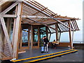 TR3852 : The new end of pier restaurant at Deal Pier by Ian Dalgliesh