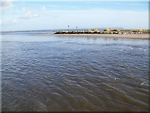 SZ1891 : Tidal run, Mudeford by Maigheach-gheal