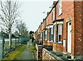 TF0745 : Terraced Housing at Sleaford Junction (pre-development), Sleaford (5) by Mick Lobb
