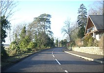 NJ6102 : Villa by bend in the A980 road by Stanley Howe