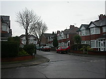 SJ8195 : Firswood, Rutland Avenue by Mike Faherty