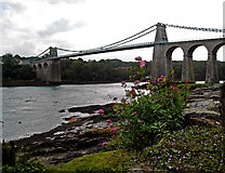 SH5571 : Menai Bridge by Bob Abell