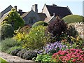 ST5326 : Garden and house at Lytes Cary Manor by David Martin