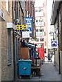 TQ3279 : Chapel Court, off Borough High Street, Southwark by Stephen Craven