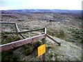 NY8026 : Disused Mine Shaft at NY 8069 2626.  Mickle Fell's Northern Slope by John Earnshaw