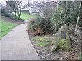 SE4923 : Entrance to the grounds of Knottingley Old Hall by bernard bradley