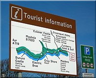 NS2005 : Tourist Information Sign by Mary and Angus Hogg