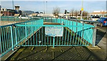 J3474 : Former subway, Belfast by Albert Bridge