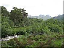 NM8464 : Strontian River by Richard Webb
