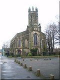 SO9596 : Church of the Blessed St Mary, Bilston by Richard Law