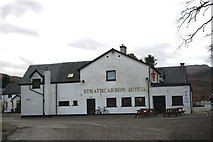 NG9442 : Strathcarron Hotel by Andrew Wood