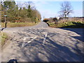 TM4487 : Church Road, Ellough by Adrian Cable