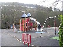 SD9927 : Playground - Calder Holmes Park by Betty Longbottom